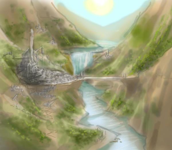Hyrule Castle 2 by super-fergus