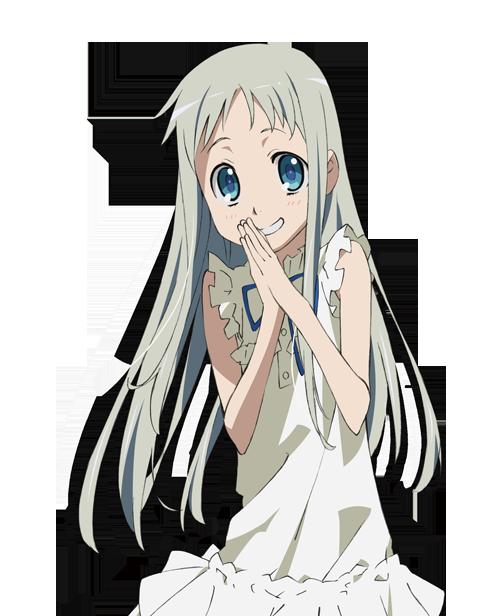 "AnoHana ""Ano hi mita hana no namae o bokutachi wa mada shiranai"" Anohana__menma_honma__png_by_sakamaeshimohira-d6p8cb5"