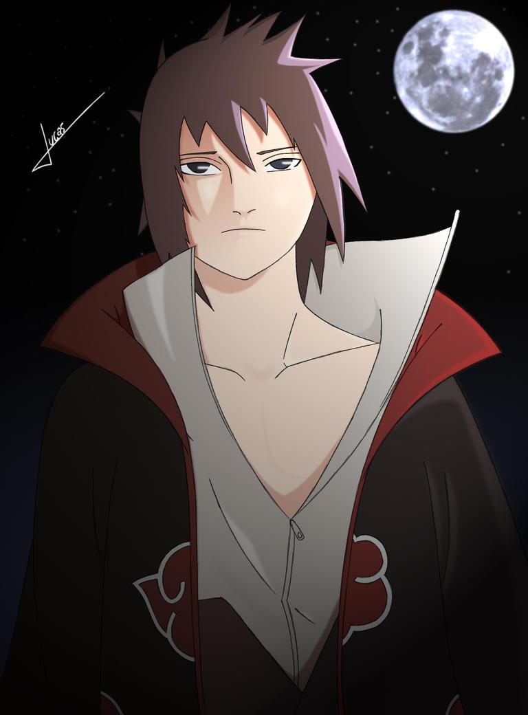 Uchiha Sasuke by Over-night