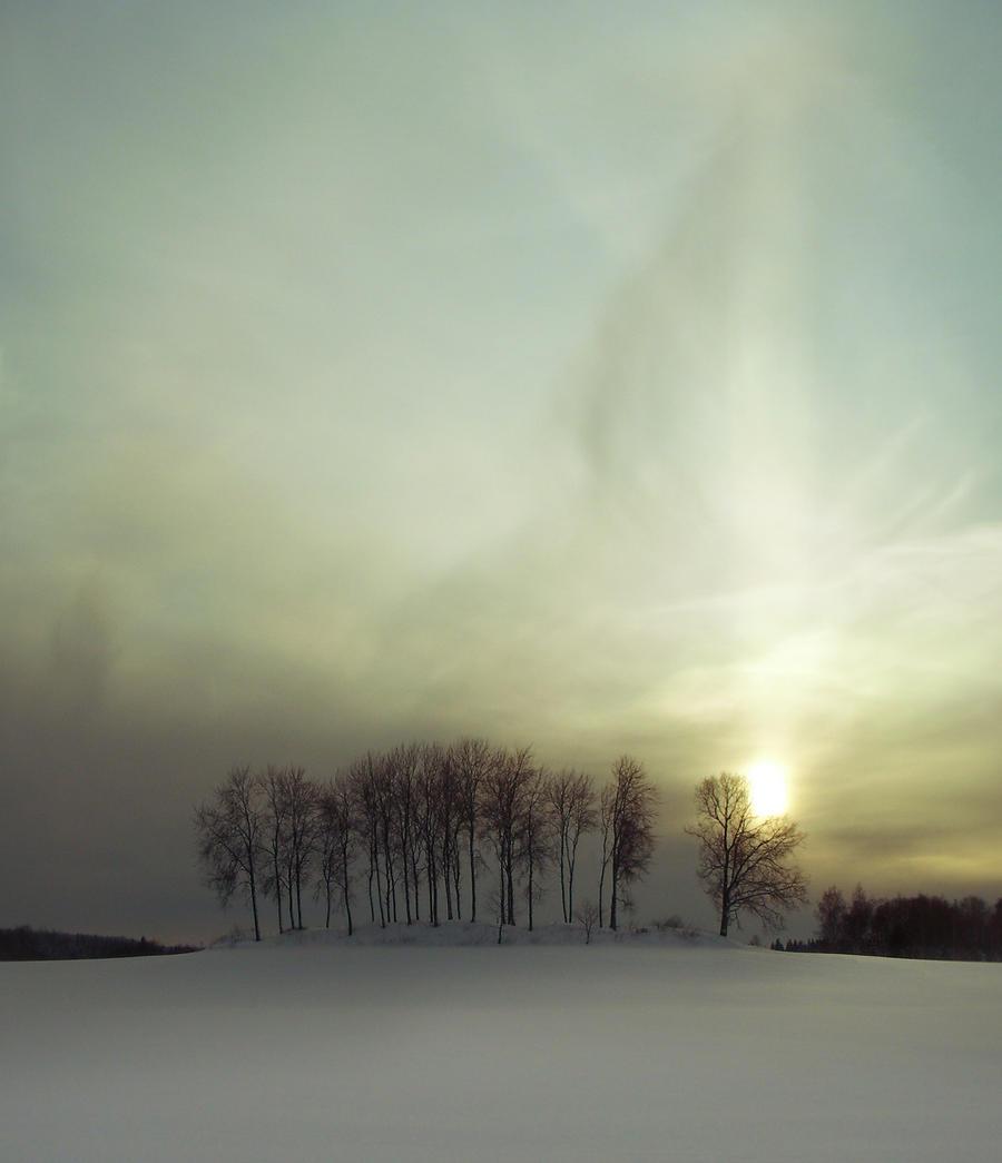 SunPillar by magnifEyes