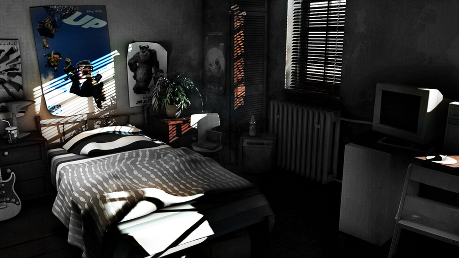 Bedroom - Lighting Challenge by kewel72000