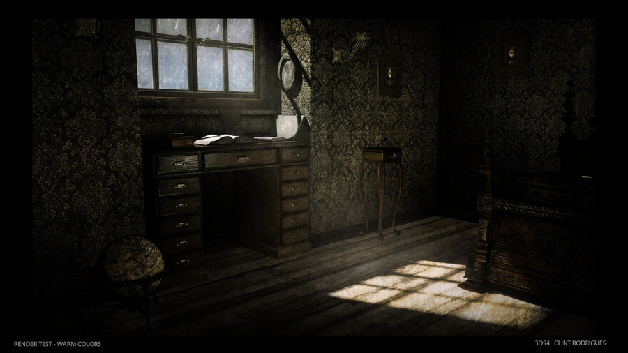 Victorian style Bedroom (Warmer Tones) by kewel72000