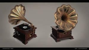 Gramophone - 3D Prop by kewel72000