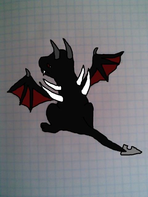 Draco with bg by Kira--Raito