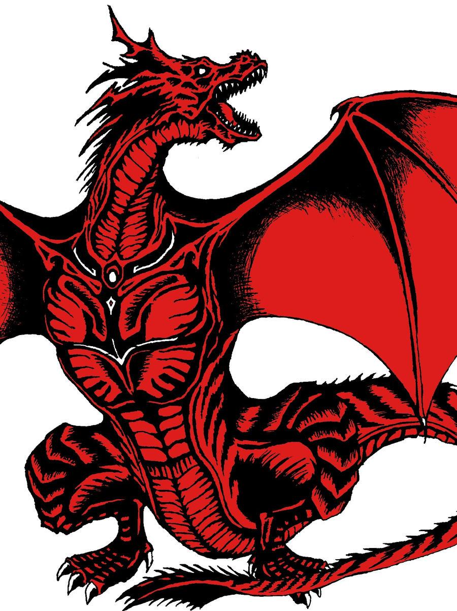 crimson dragon wallpaper - photo #24