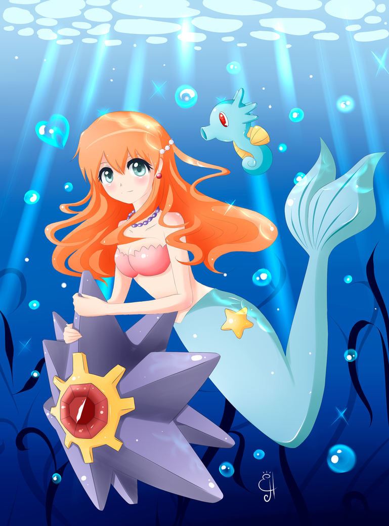 Misty Mermaid by Exceru-Hensggott