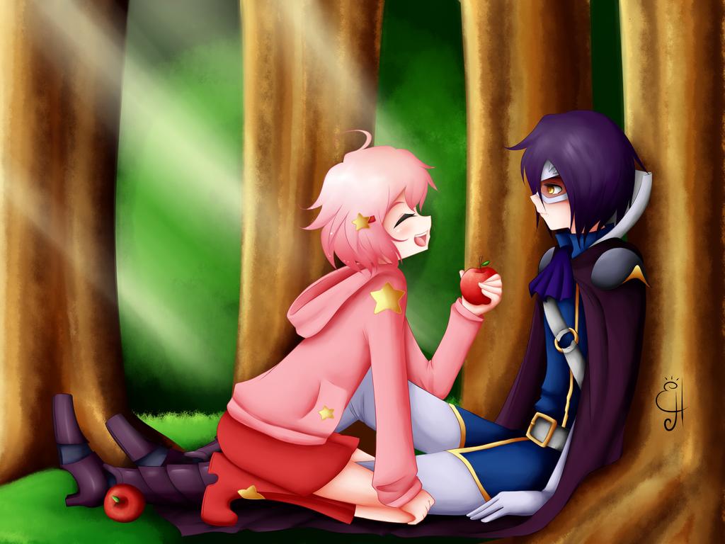 Kirby and Meta Knight. Gijinkas by Exceru-Hensggott on ...