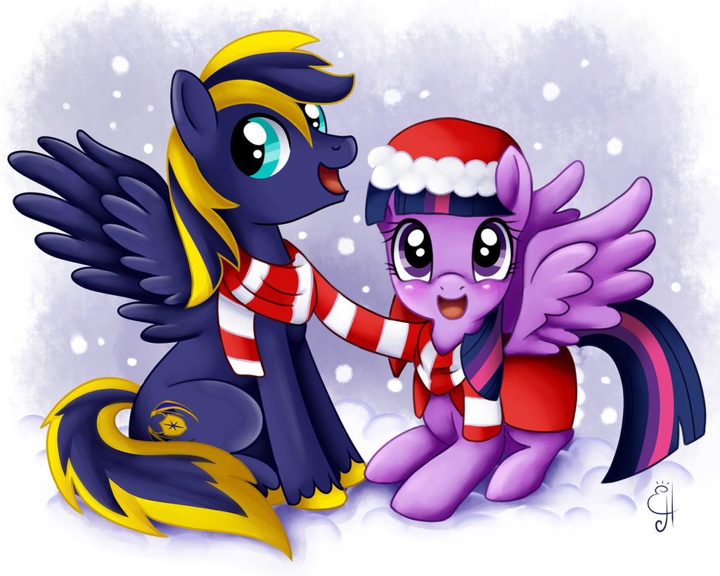 Holiday Coloring Pages twilight sparkle coloring pages : MLP Commission Zephyr and Twilight by Exceru-Hensggott on DeviantArt