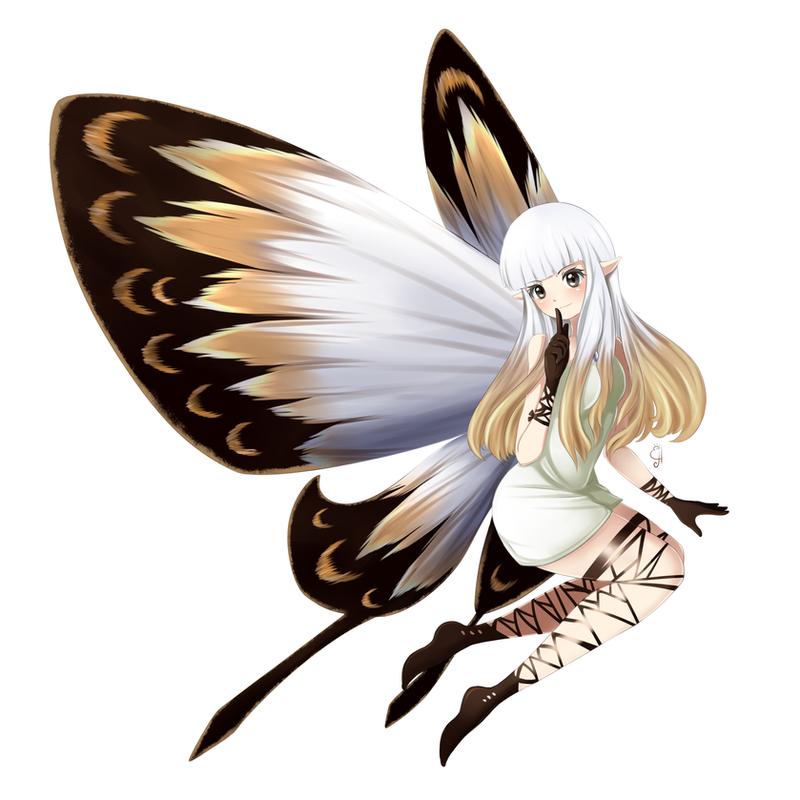 Where The Fairy Flies by Exceru-Hensggott