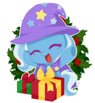 YCH  Christmas Gift Trixie