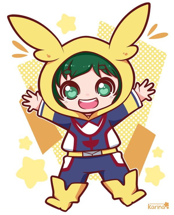 Chibi Deku By Exceru-Karina On DeviantArt