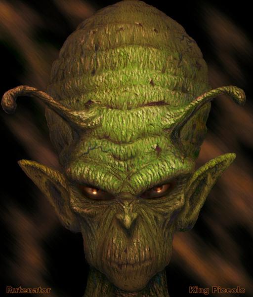 King Piccolo by Rutenator