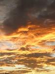 Sky is on fire