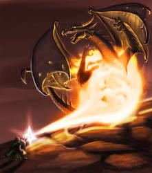 Flame Battle