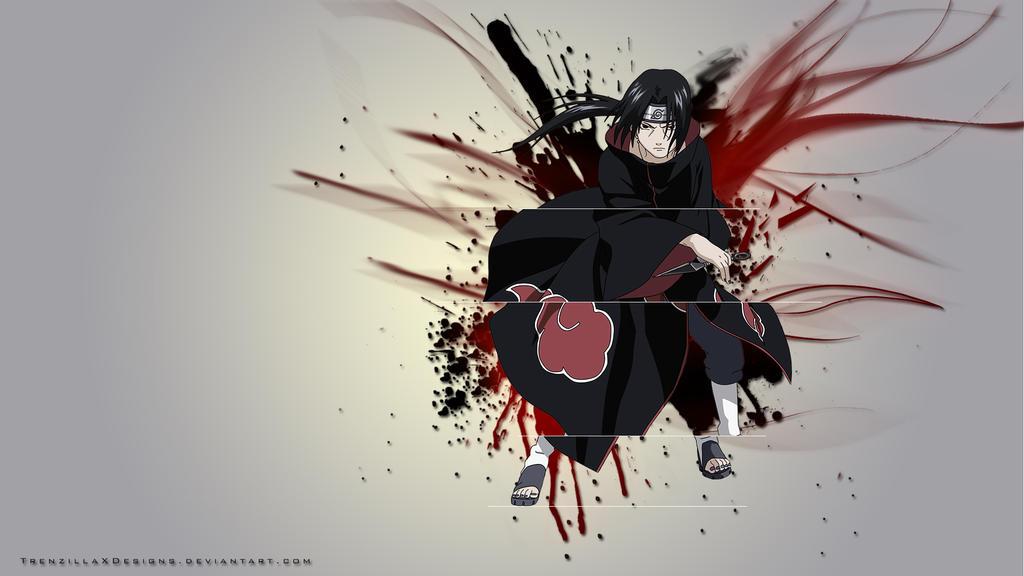 Naruto Wallpaper Itachi Uchiha by TrenzillaXDesigns on DeviantArt
