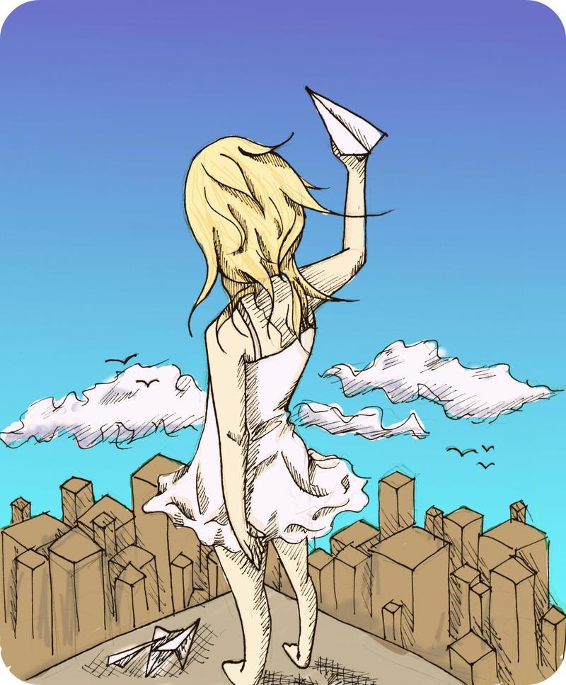 Flight by peachei