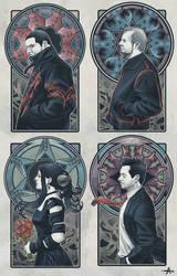 Evanescence in Art Nouveau by ameeeeba
