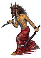 mask warrior by ameeeeba