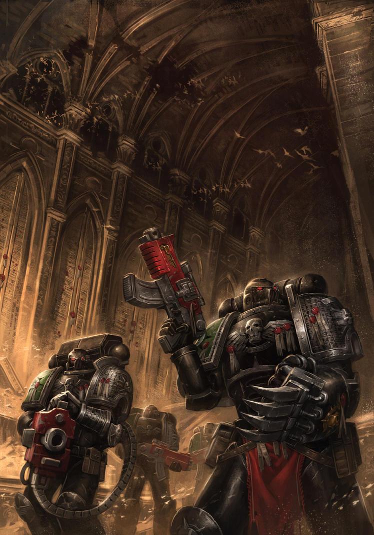The Halls of the Omega Vault by ameeeeba