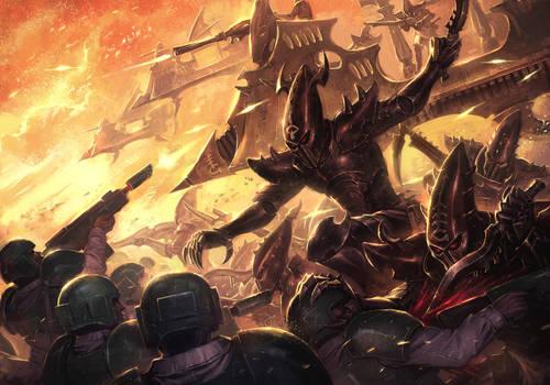 Children of Thorns Attack by ameeeeba