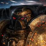 Deathwatch space marine