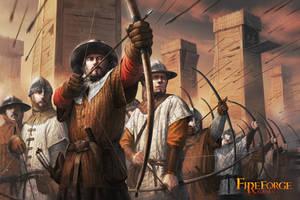 Medieval Archer by ameeeeba