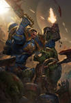 Space Marine vs Ork