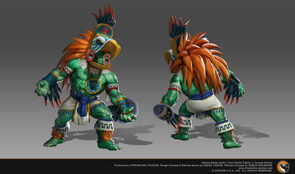 Blanka Battle outfit from Street Fighter V: Arcade