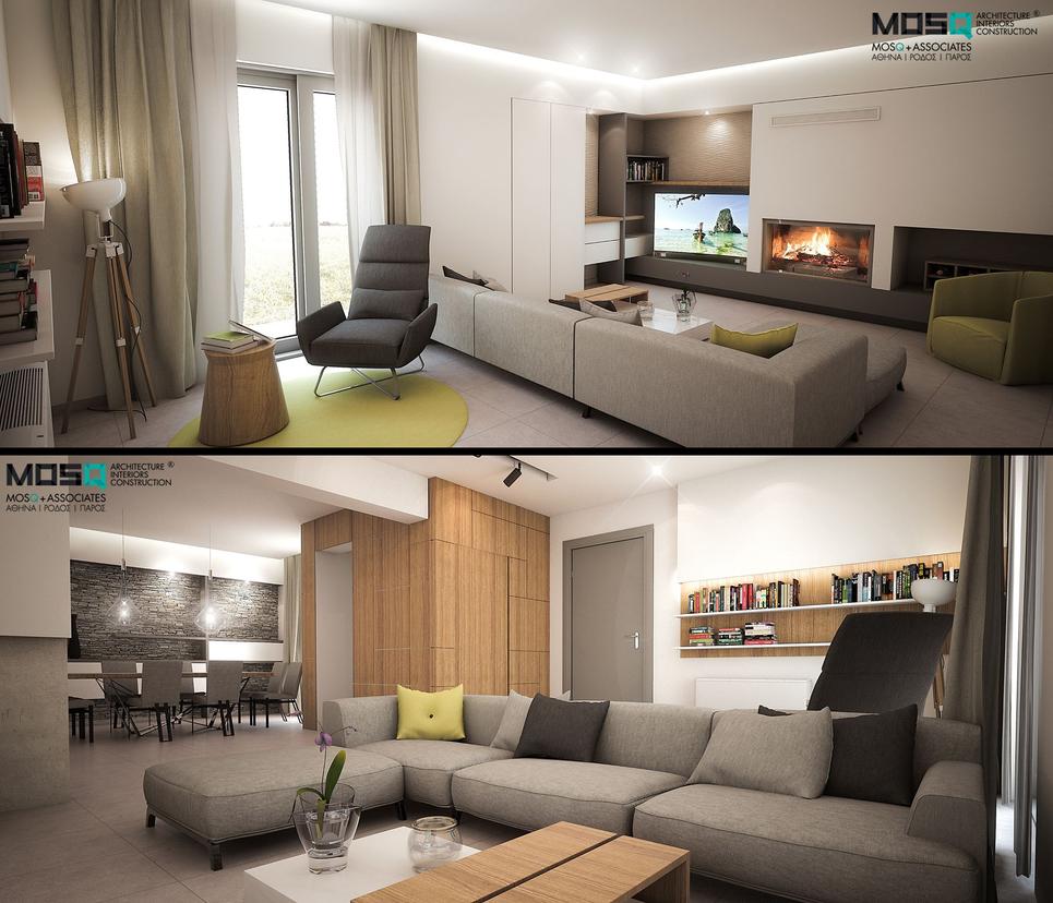 Villa M. Living Room by Arx-Design