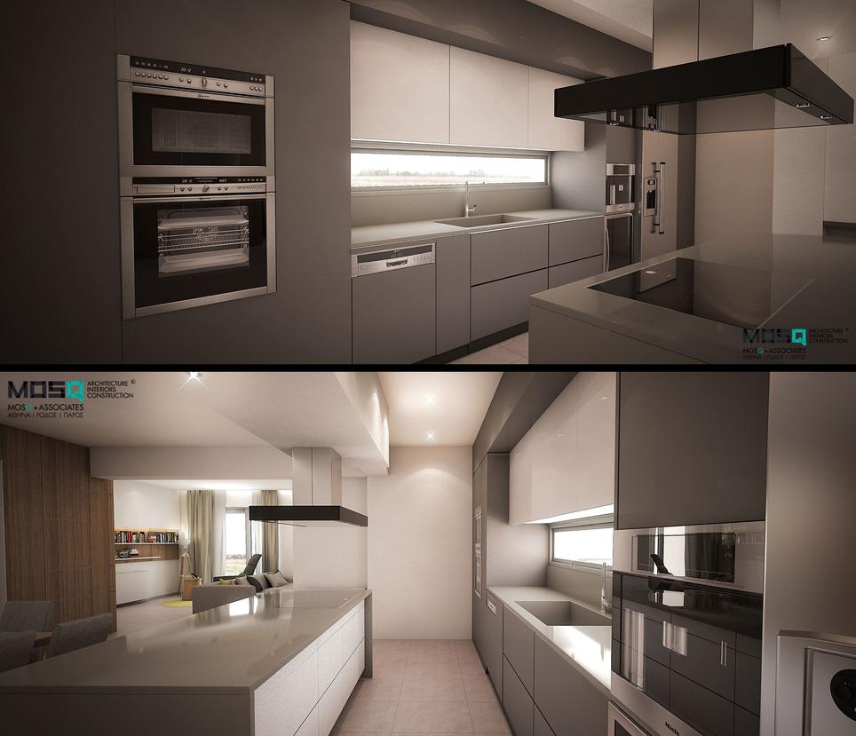 Villa M. Kitchen by Arx-Design