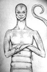 Snakeman by khamarupa