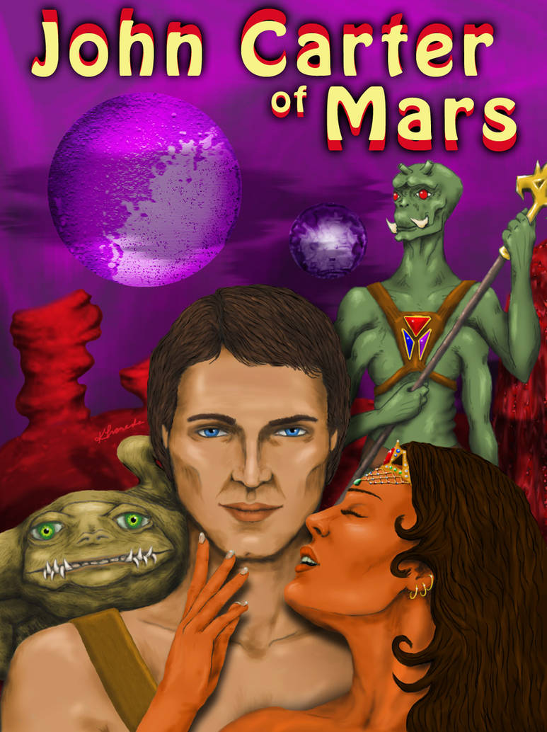 John Carter of Mars Concept by khamarupa
