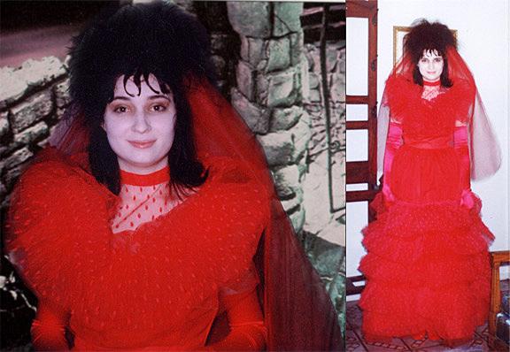 Lydia beetlejuice red wedding dress - Fashion wedding dress