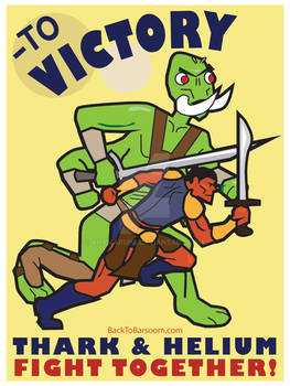 To Victory! John Carter of Mars