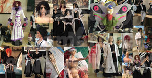 Custom Bleach Dolls by me and NettieMuse
