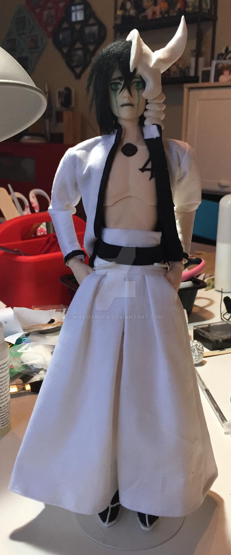 Bleach: Ulquiorra Custom Action Figure by khamarupa