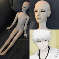 WIP 1/3 Dollfie Hichigo doll.
