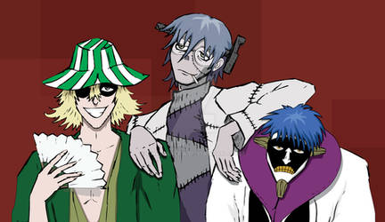 Bleach x Soul Eater: Three Mad Scientists!