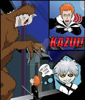 Bleach: Kazui vs His First Hollow