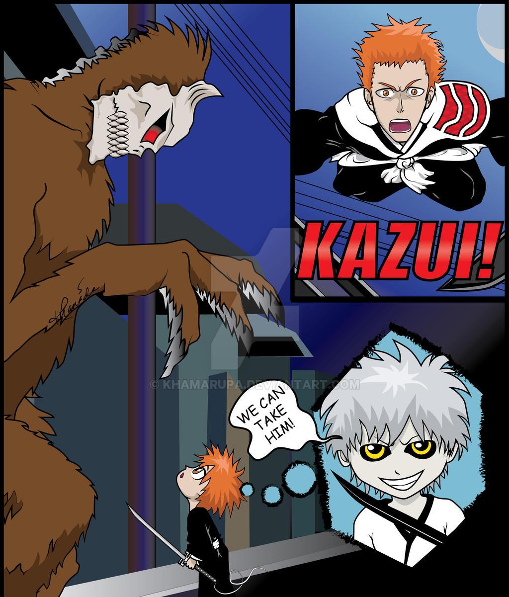Bleach: Kazui vs His First Hollow
