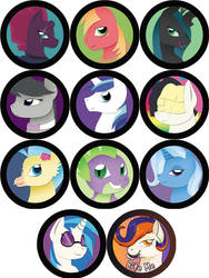 Paper Pony Buttons: Round 2