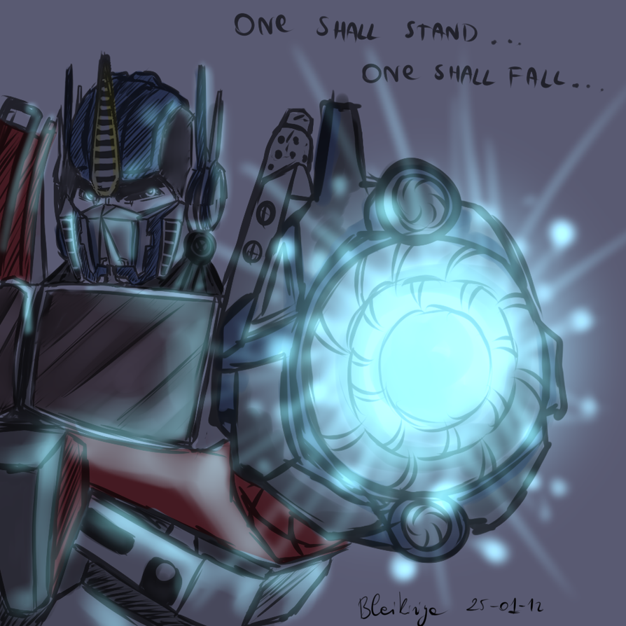 WIP Optimus Prime by Bleikiriya