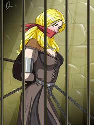 Marketa de Sorceress in the dungeon