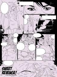 In progress: Stacy Blair comic! by newdeaart
