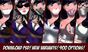 Lois Lane SuperUpdate!!! 900 combinations!!! by newdeaart