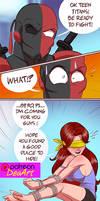 Starfire's game! AE comic!