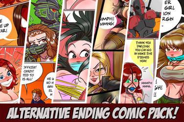 June's Pack! Alternative comics!