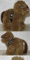 Chewbacca Pony by PoniesOfDOOOM