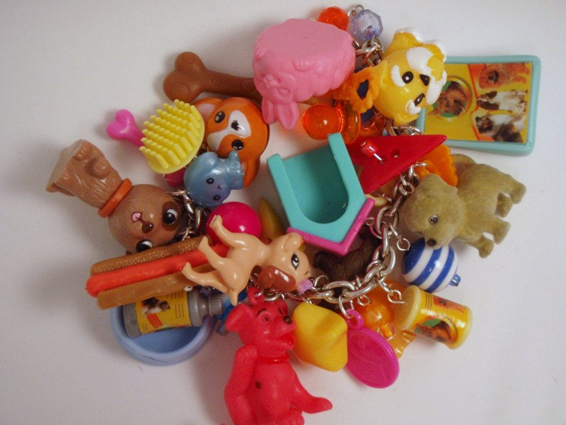 Pound Puppies Toy Box Charm Bracelet by PoniesOfDOOOM on DeviantArt