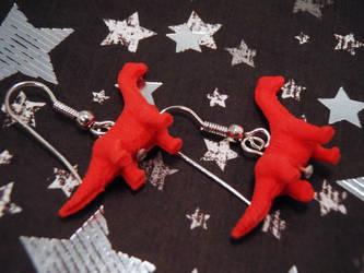 Brachiosaurus Earrings